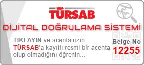 tursab dds 12255 - İletişim
